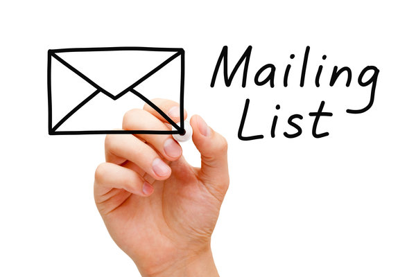 Building Your Mailing Lists