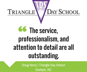 Triangle Day School - Testimonial Bulk Mailing